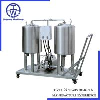 Cheap 50L - 500L CIP Equipment Movable CIP With Wheel Temperature Pressure Control for sale