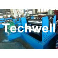 Cheap 2.0 - 4.0mm Thickness Corrugated Steel Sheet Roll Forming Machine For Silo Wall Panel for sale