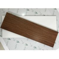 Cheap Exterior Soffit Metal Ceiling System C - Shaped Wood Grain Suspended Ceiling Tiles for sale