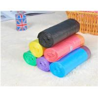 Quality HDPE Packaging Home Garbage Bags , Drawstring Trash Can Liners Customized Size wholesale