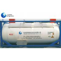 Cheap 75-45-6 / 1018 UN R22 Refrigerant Gas In Bulk ISO Tank For Cooling for sale