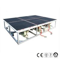 China 2600x2000mm Air Float Glass Breaking Table Pneumatic Control System on sale