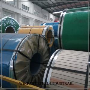 Cheap EN 10088-2 1.4509 Stainless Steel Sheet / Coils / Strips 0.6 - 5.0mm BAOSTEEL POSCO for sale