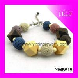Cheap Fashion Volcanic Stone Bracelet for sale
