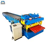 Cheap Color Steel Metal Glazed Tile Tile Roll Forming Machine For Outdoor Decorate for sale