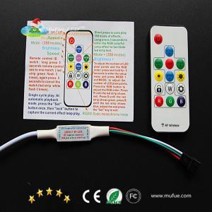China 2017 New stable P9411/P923 dream color Magic pixelDC12V/DC24V/DC5V/DC3.7V RGB 5050 LED strip light with mini remote on sale