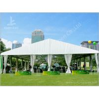 Cheap 300 People White Sunshade Outdoor Event Tent , Party / Festival Event Tent wholesale