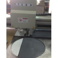 Buy cheap Cutting Rubber Gaskets with CNC Oscillating Tangential Knife Cutter from wholesalers