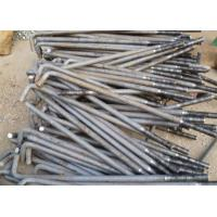 Cheap Carbon Steel Foundation L Anchor Bolts , Hold Down Bolts For Concrete M24 M36 for sale