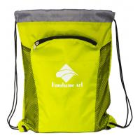 Cheap New Hot Selling  Cheap Polyester Drawstring Bag with Zipper-HAD14023 for sale