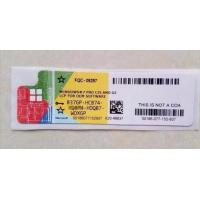 Cheap 32 bit / 64 bit win 7 professional sp1 product key COA License Sticker wholesale