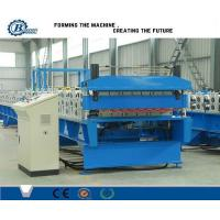 Custom Metal Roof Panel Double Layer Roll Forming Machine , Roof Tile Making Machine