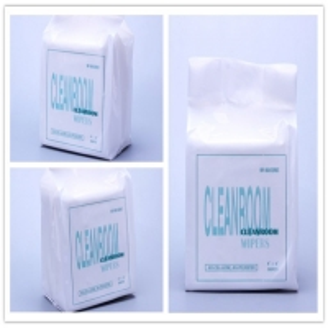 China Sub Microfiber Shredded Paper Cleanroom Wiper on sale