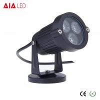 Cheap IP40 round black 45 degree lens outdoor 3W LED garden lights for hotel for sale