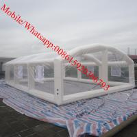 Cheap inflatable crystal bubble tent inflatable house tent inflatable church tent for sale