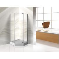 Cheap 900x900mm Dimond Shape Corner Shower Stall Normal Temperature Storage for sale