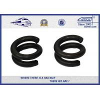Quality 65Mn Spring Steel Double Coil Washer / Bouble Layer Waher Black Surface Treatment wholesale