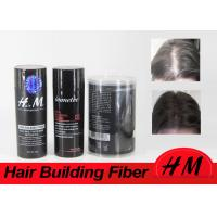 Cheap 10g 30g OEM Instant Hair Thickening Fiber Dark Brown Completely Conceals Hair Loss for sale