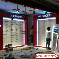 Cheap Impressive Design Ideas For Clothes Fashion Clothing Store with stainless steel rack for sale