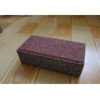 Cheap Clay Material Permeable Driveways Products , Block Paving Edging Bricks for sale