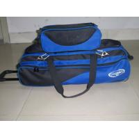 China Customized Bowling Bag With Wheels 3balls on sale