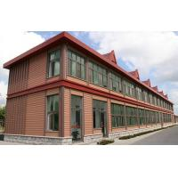 Cheap External Timber Wall Cladding , Durable Wood Plastic Composite Panel for sale
