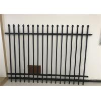Buy cheap China supplier - hot sale Diplomat steel 2100high road steel garrison fence from wholesalers