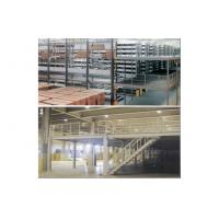 Cheap Industrial shelving racks - mezzanine floor, steel shelving racks, 1000kg/square meter for sale
