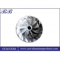 Cheap Stainless Steel Impeller / Investment Casting / High Precision Custom Metal Castings for sale