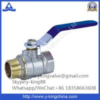 Cheap 600wog Brass Ball Valve with Butterfly Handle for sale