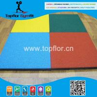 Cheap Cheap Rubber flooring for outdoor playground basketball courts for sale
