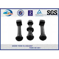 Cheap Oxide Black Railway Bolt Nut for Fish Plate Grade 8.8 45 #  tunnel bolt for sale