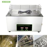 China 40KHz Industrial Ultrasonic Cleaner 30L Tanks 110/220V For Turbine Fuel Nozzle on sale