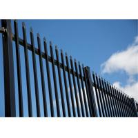 Cheap Tubular steel security fencing/steel hercules fence panel/Commercial fencing for sale