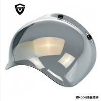 China Mirror Silver Color Motorcycle Shields Visors For JET / OPEN FACE  / HARLEY Helmet on sale
