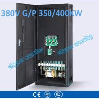 Cheap 350kw/400kw VFD G/P pump  motor AC drive CNC frequency converter Low Voltage frequency inverter Vector Control Transduce wholesale