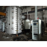 China Vertical Front Door Stainless Steel Furniture PVD Coating Machine Cost on sale
