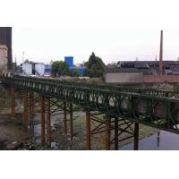 Portable 3 Meters Modular Steel Suspension Bridge Prefabricated Steel Bridges