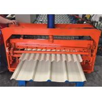 China Color Coated Metal Sheet Rolling Machine, Smart Metal Roofing Roll Former on sale