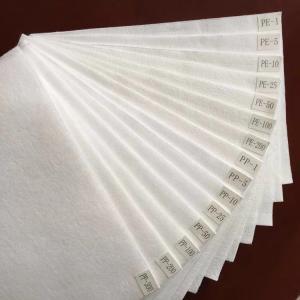 Cheap Polyester 1 Micron Felt Polyproplyene Micron Felt For Liquid Filtration for sale