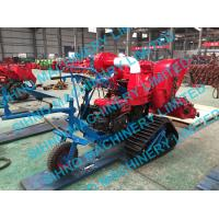 4LZ-0.7 mini paddy combine harvester with crawler, rice wheat 14HP
