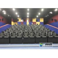 Cheap Exciting Simulating Luxury Cabin Box 5D Cinema System With Fiber Glass Material for sale