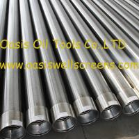 Oasis factory supplies Stainless steel sand control wire wrapped water well screens