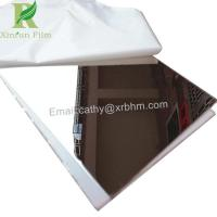 Cheap 0.03-0.22mm White Self Adhesive Protective Film for Stainless Steel Mirror Finish for sale
