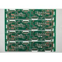 China 0.25mm FR4 Green Solder Mask Multilayer PCB Manufacturing Process OSP White Silkscreen on sale