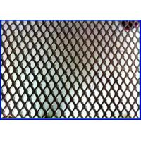 Cheap 5 X 5mm Diamond Aluminum Expanded Metal Mesh 18 - 50 Meter Long Customized Color for sale