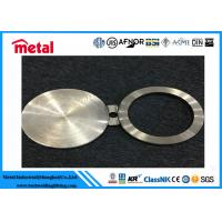 China 6 '' Forged Flange Nickel Alloy Pipe Fittings Spectacle Line Blinds NO8825 CL150 ASME B16 48 on sale