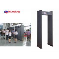 Cheap Sound and light Alarm Professional Walk Through Metal Detector for Security Inspection Embassies for sale