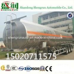 China 50cbm Hi-Q Aluminum Fule Tank Semi Trailer Shengrun Auto Liangshan on sale