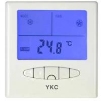 Cheap YKC303 LCD Room Thermostat (Air-conditioner thermostat, fan coil thermostat, residential thermostat for sale
